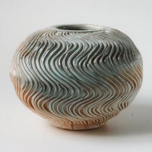 Træbrændt porcelæn